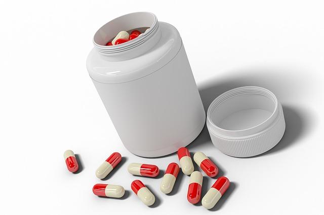nádobka na léky
