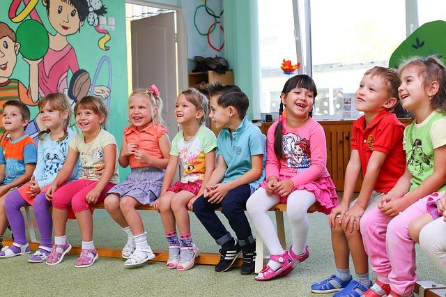 děti ve školce