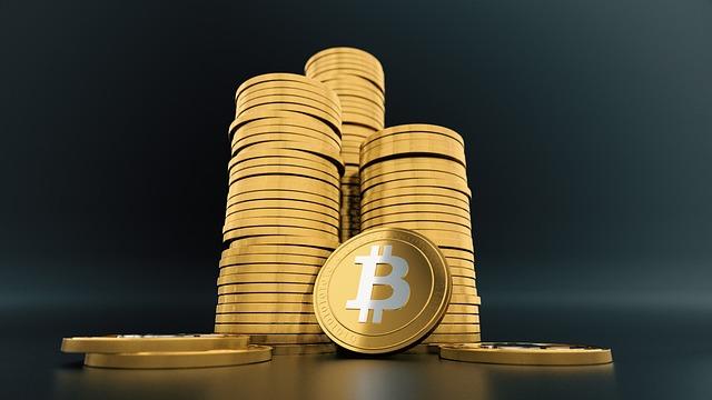 sloupky bitcoinů