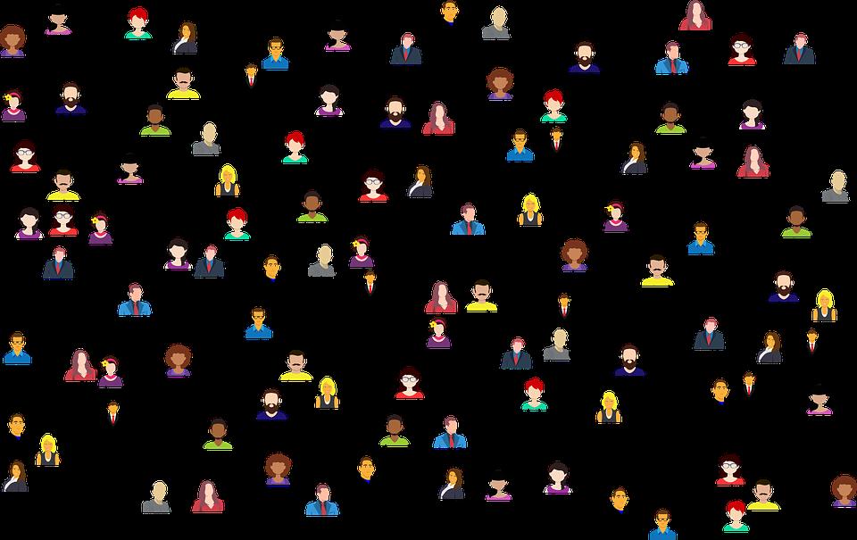 síť lidí
